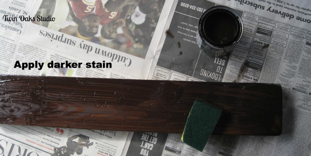 can you stain teak wood