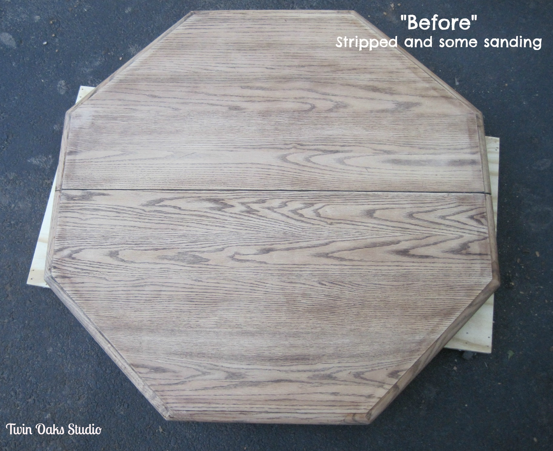 Stripping Dining Room Table Wood Refinishing Tip Twin Oaks Studio
