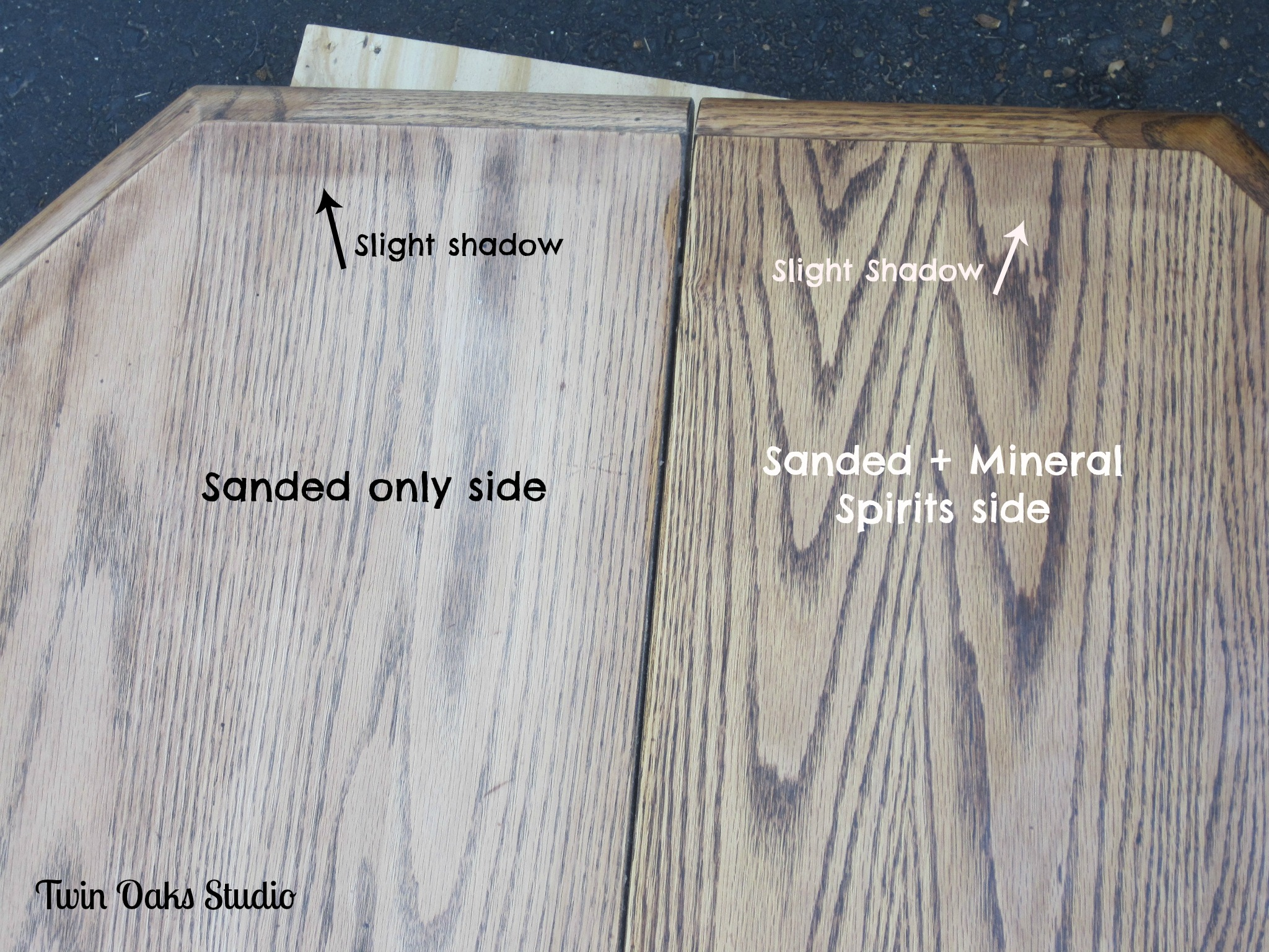 Refinish Stained Wood Wood Refinishing Tip Twin Oaks Studio