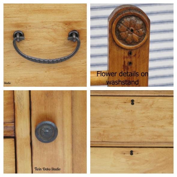 maple dresser parts Collage