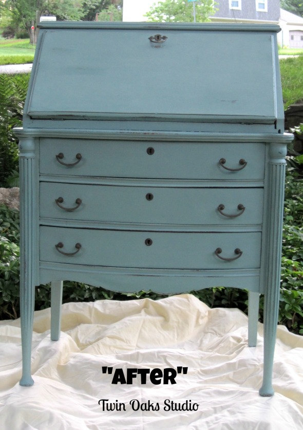 secretary after front