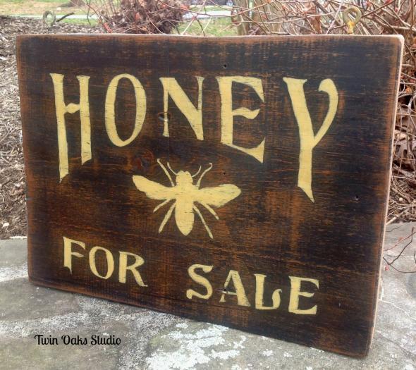 honey side