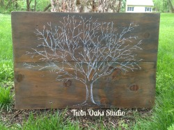 tree on wood 1