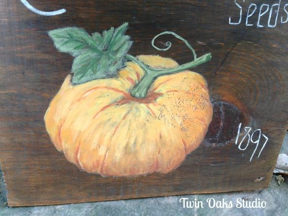 pumpkin close