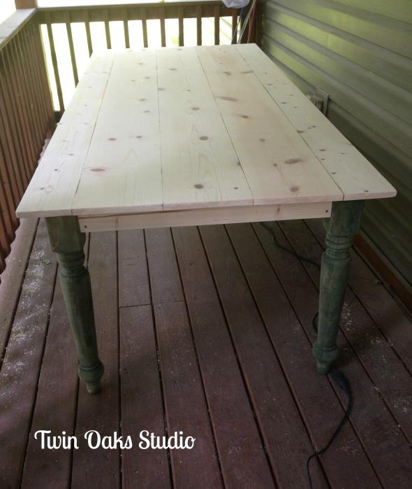 table mockup
