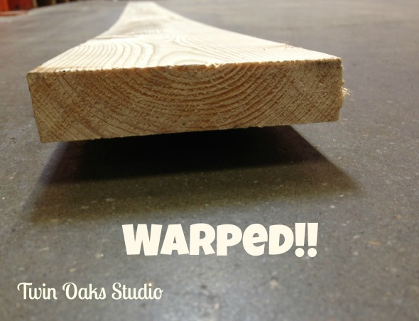 wood warped
